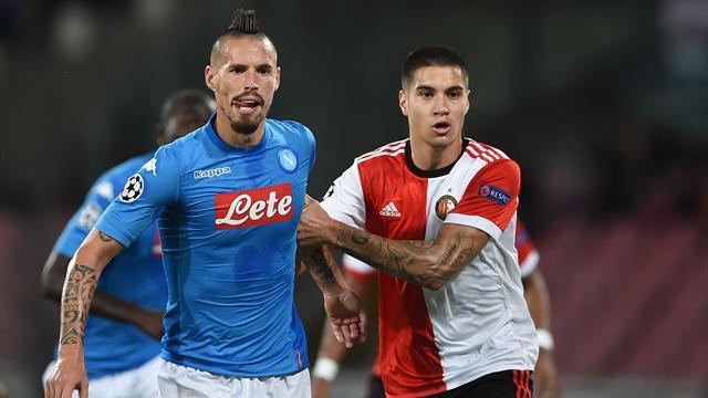 Feyenoord-Napoli in Diretta tv e Live-Streaming