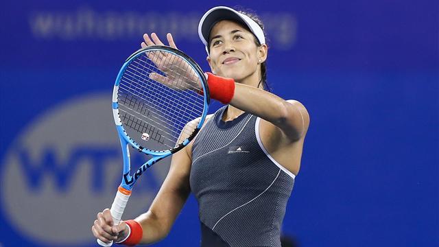 WTA Wuhan: La derrota de Pliskova ante Barty asegura el número uno de Garbiñe al menos hasta China