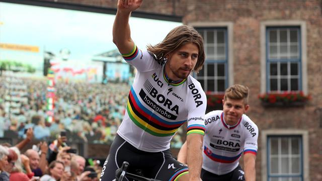 Peter Sagan estrenará su tercer maillot arcoíris en enero, volviendo al Tour Down Under