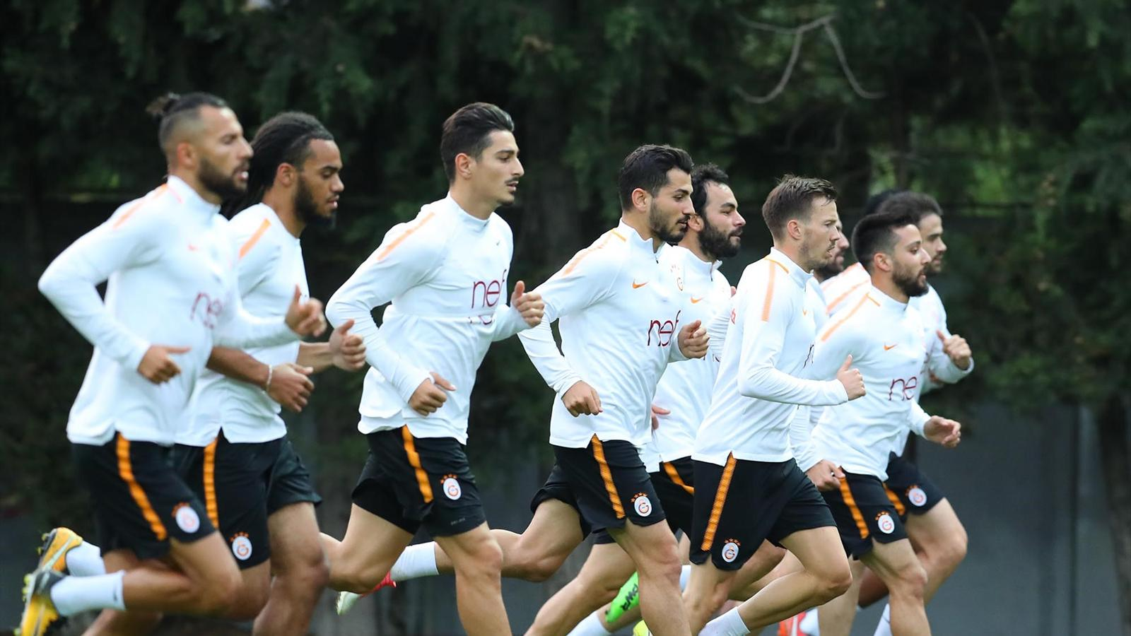 Galatasaray, Karabükspor'a hazırlanıyor