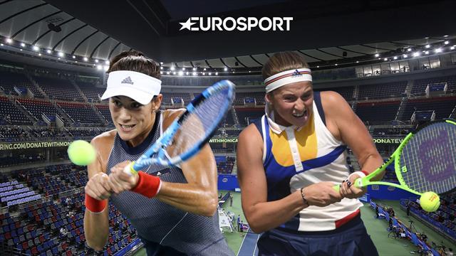 WTA Finals, Garbiñe Muguruza-Jelena Ostapenko: De campeona a campeona