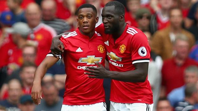 Martial partners Lukaku with Rashford on bench, Hazard starts at Atletico