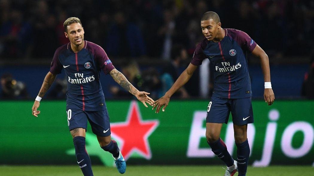 Icardi, Neymar, Mbappe