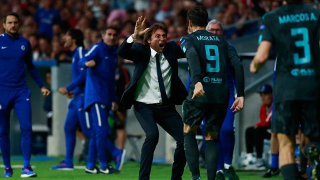 Morata y otro gol en el 93 complican la clasificación al Atlético (1-2)