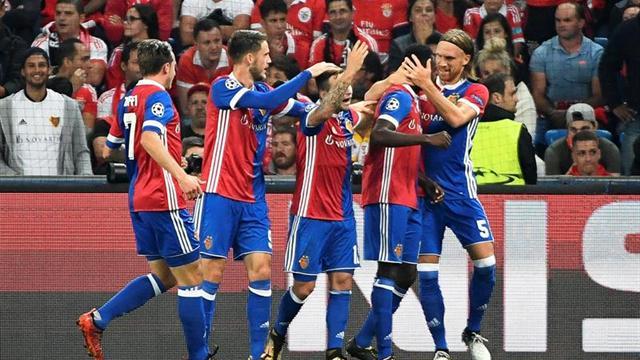 5-0. El Basilea toma impulso a costa de un desquiciado Benfica