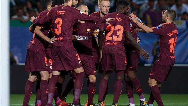 0-1. El Barça sufre para llevarse la victoria en Lisboa
