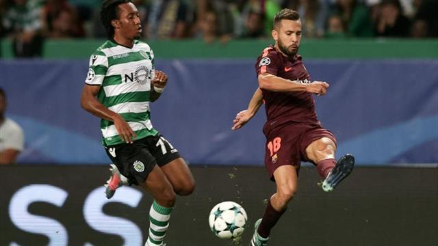 """Jordi Alba: """"Suerte que hemos estado bien defensivamente"""""""