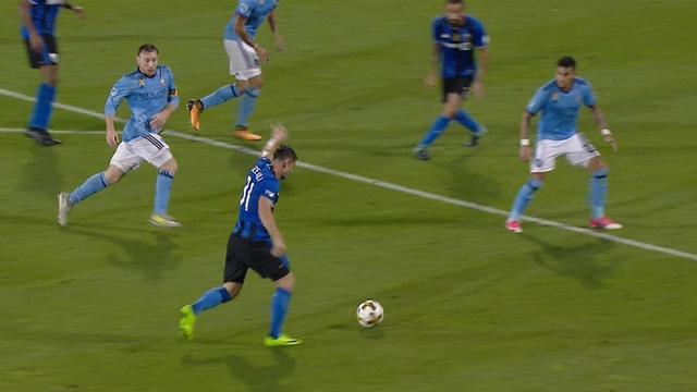 MLS, Montreal Impact-New York City: Sin relajación posible (0-1)