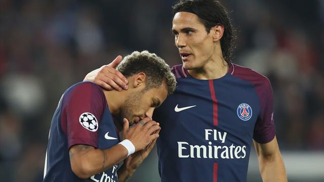 Neymar slams rift reports, but Cavani issues PSG warning