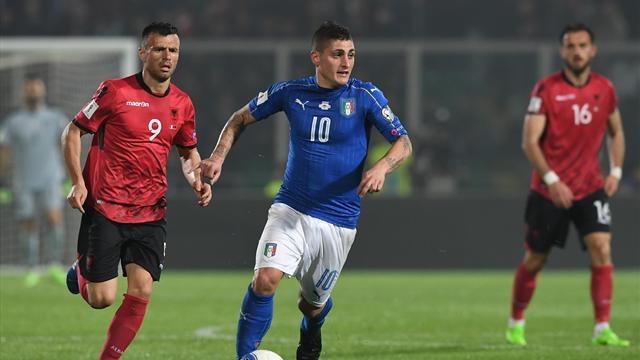 Forfait, Verratti manquera les deux matches de l'Italie