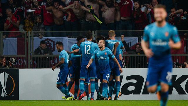Giroud centenaire, Arsenal accélère, Milan a souffert