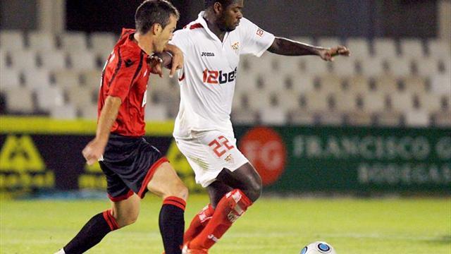 El Sevilla superó 3 veces a rivales murcianos y fue apeado en 2 ocasiones