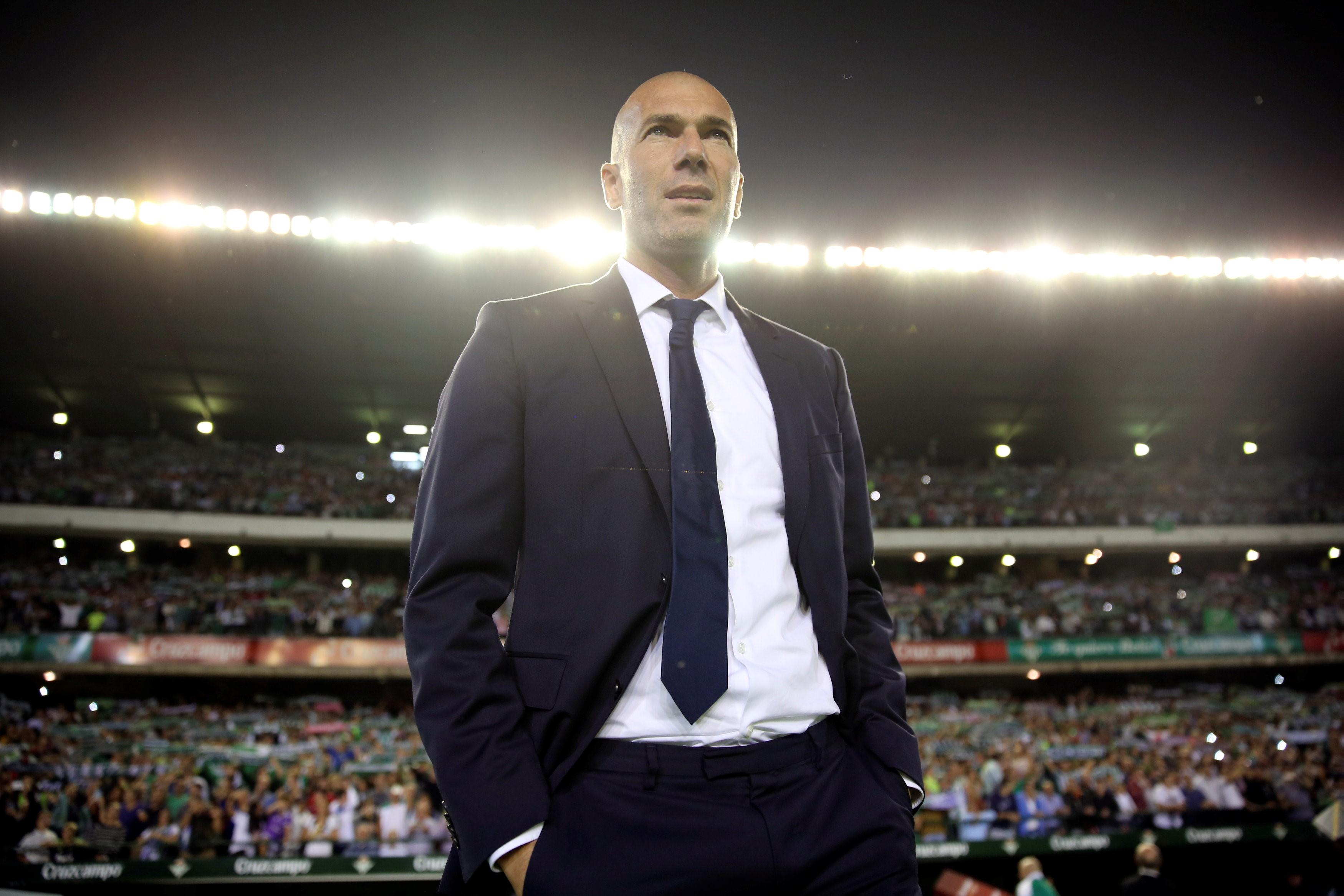 Zinédine Zidane Real Madrid 2016