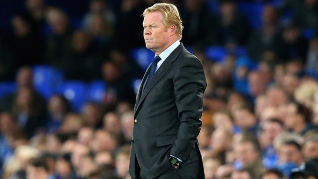 Boss Koeman says Everton players are 'scared' and 'afraid'
