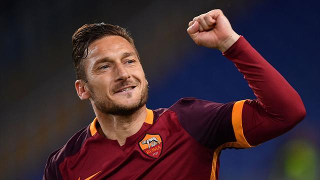 Totti renonce à la formation d'entraîneur qu'il devait suivre