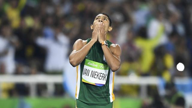 Six mois d'absence pour Van Niekerk