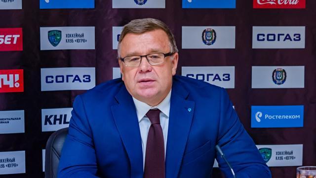 Захаркин уволен из «Югры» после 8 поражений подряд
