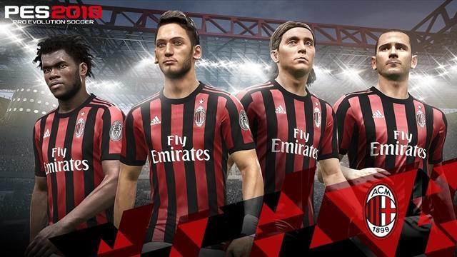 Разработчик Pro Evolution Soccer стал официальным партнером «Милана»