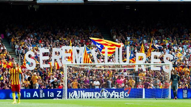 ВИспании проходит митинг против независимости Каталонии