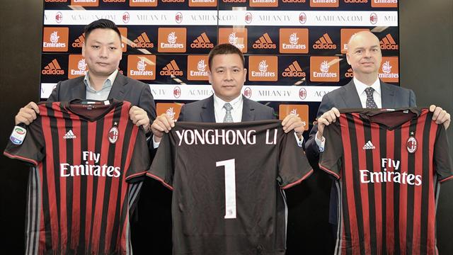 AC Milan's Chinese owner seeks new investors - sources