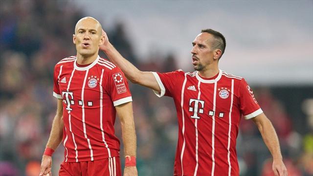 Goal: «Бавария» предложит Роббену и Рибери новые контракты