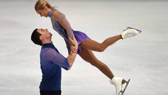 Savchenko/Massot stürzen sich zu Platz zwei - Nordkoreaner lösen Olympia-Ticket