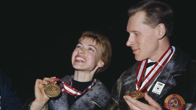 Belousova, double championne olympique, est décédée