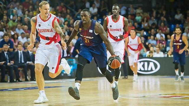 El Barcelona se anota ante Baskonia (87-82) un emocionante estreno de Liga ACB