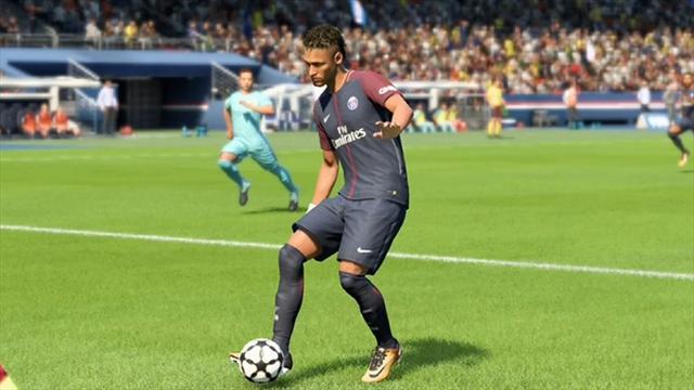 Неймар из FIFA 18 забил с углового, пока голкипер соперника исполнял вратаря из FIFA 17