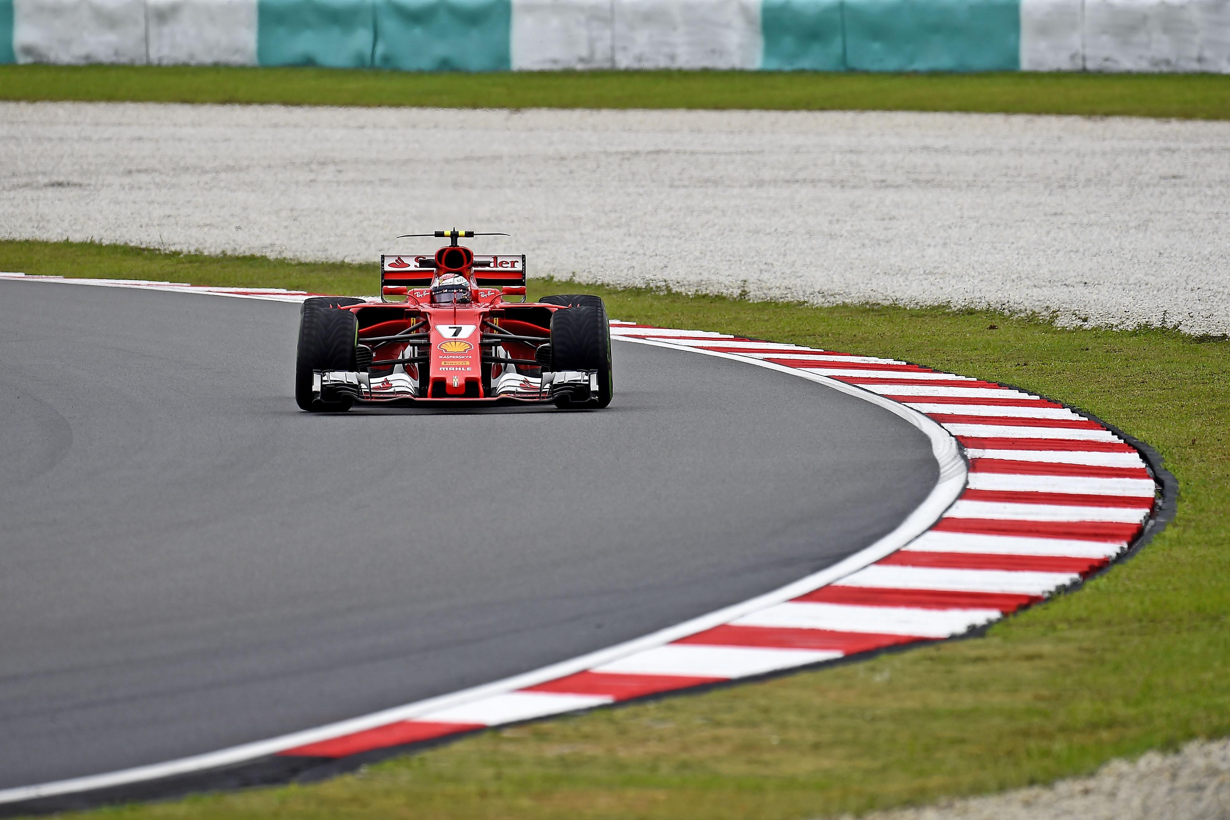Kimi Räikkönen (Ferrari) au Grand Prix de Malaisie 2017