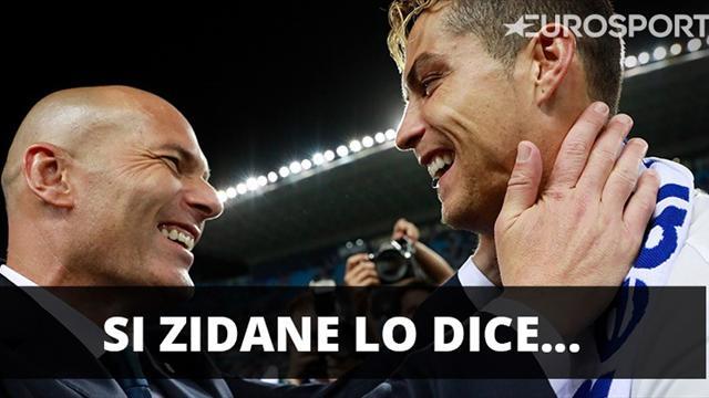 Zidane tranquiliza sobre la renovación de Ronaldo