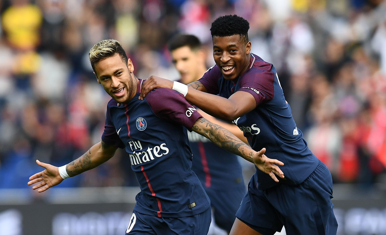 Neymar a ouvert le score pour le PSG face à Bordeaux