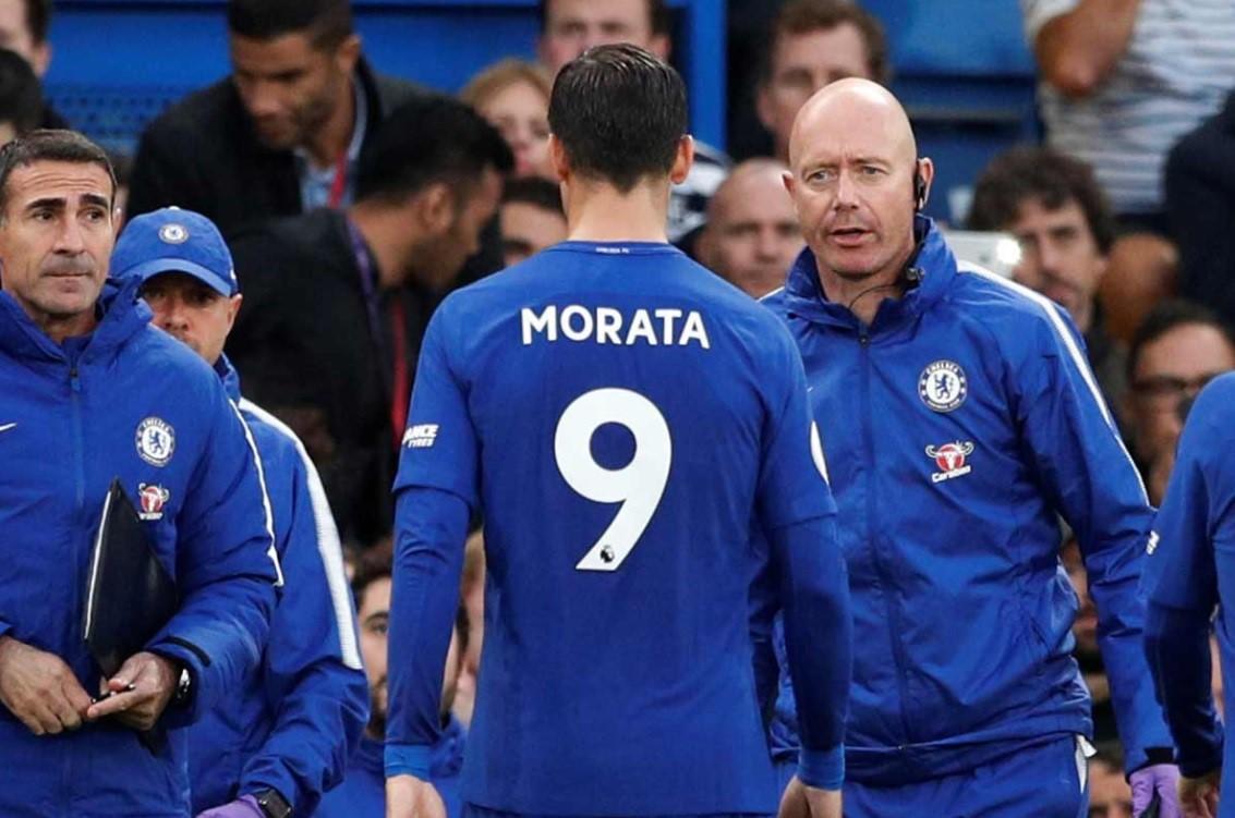 Мората покидает поле из-за травмы в матче «Челси» – «Манчестер Сити»