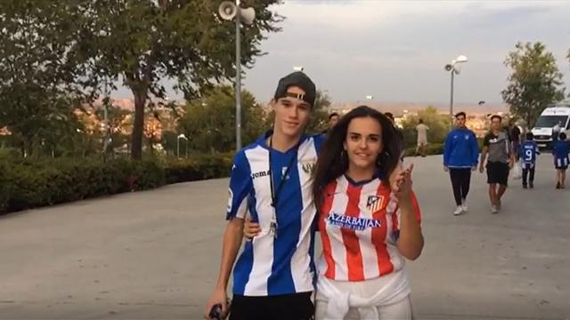 Leganés-Atleti, aficiones hermanadas: Que el fútbol no rompa el amor
