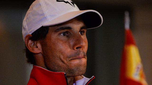 """Nadal : """"Mon coeur a saigné toute la journée"""""""