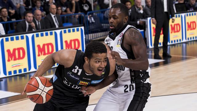 Dolomiti Energia Trentino-Germani Basket Brescia in diretta tv e Live-Streaming