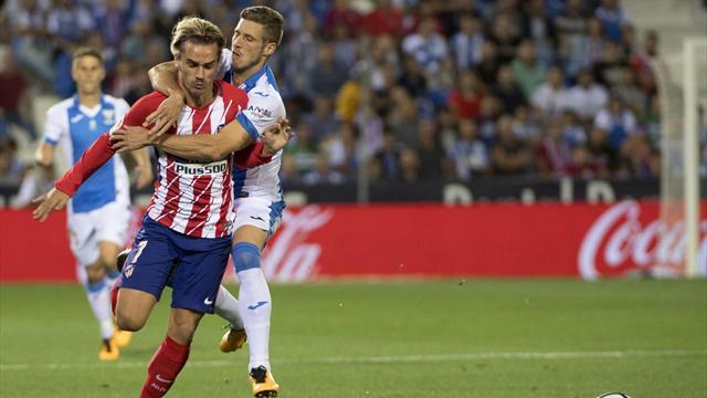 LaLiga, Leganés-Atlético de Madrid: El músculo se zampó al fútbol (0-0)