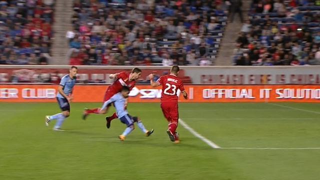 MLS 2017: Gli highlights di Chicago Fire-New York City fc 1-1