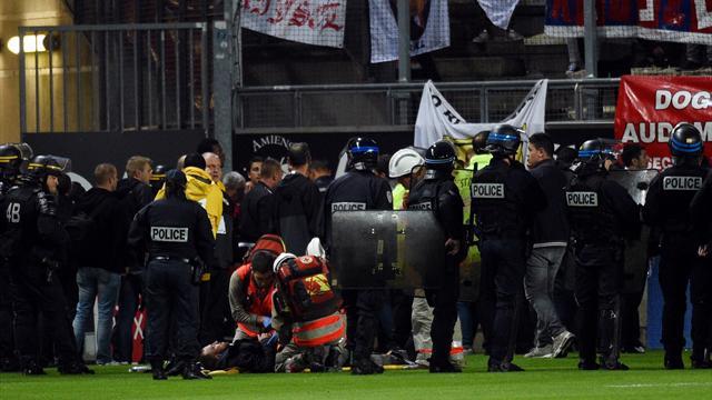Barrière effondrée à Amiens: la Ligue a mis