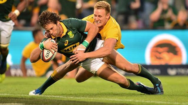 Sudáfrica y Australia empatan 27-27 en Bloemfontein