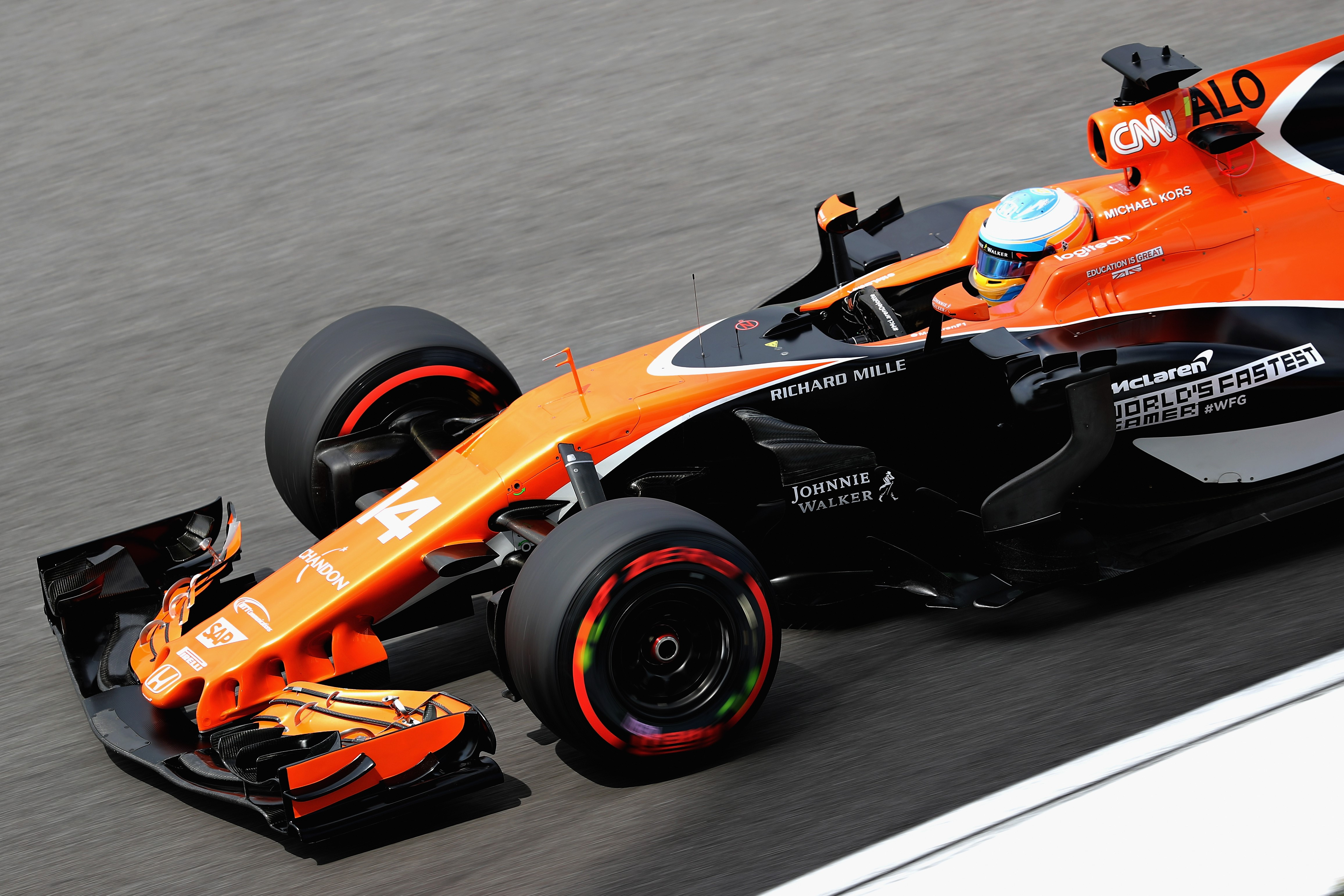 Fernando Alonso (McLaren) au Grand Prix de Malaisie 2017