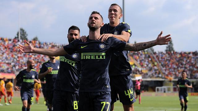 Inter-Benevento, De Zerbi polemico: