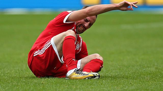 Bayern, che guaio per Ribery: si teme la rottura del crociato