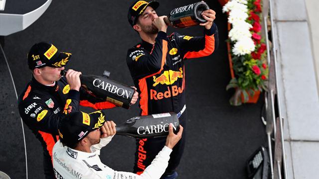 Bonus-malus : Verstappen brille, Vettel survit, Bottas déprime