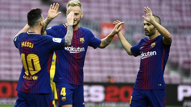 Indipendenza, scontri, Camp Nou senza tifosi: è caos totale, ma il Barça vince 3-0