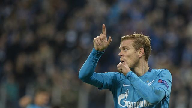 Кокорин добыл очко для «Зенита», «Локомотив» слил «Шерифу». Все результаты Лиги Европы