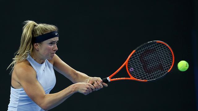 Svitolina et Wozniacki quittent Hong Kong sur blessure