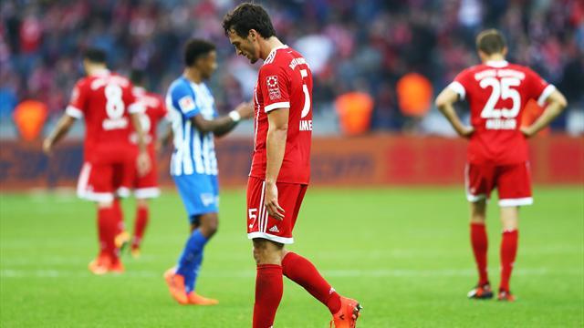 Bayern başkentten de çıkamadı