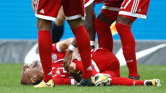 """Sagnol sur la blessure de Ribéry : """"On soupçonne une rupture des ligaments externes"""""""