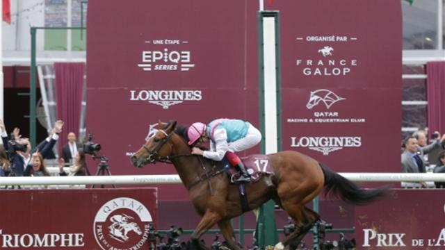 Qatar Prix de l' Arc de Triomphe : Dettori guía a Enable hasta el Olimpo